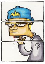 cigarette cancer sante graffiti bande dessinee