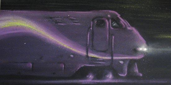 train-mauve