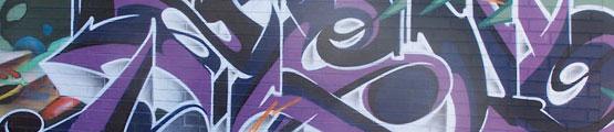 photographie murale graffiti artiste zeck graffiteur art