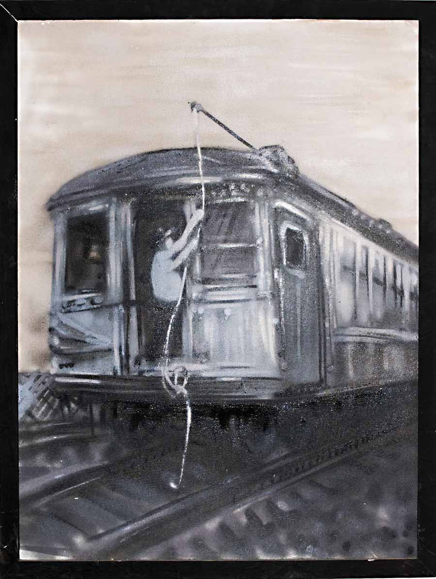 old man train