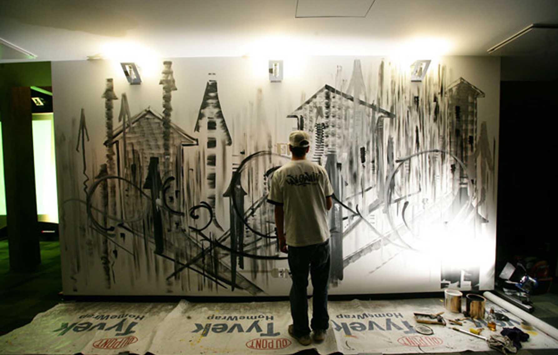 Graffiti Hôtel Alt Quartier Dix30