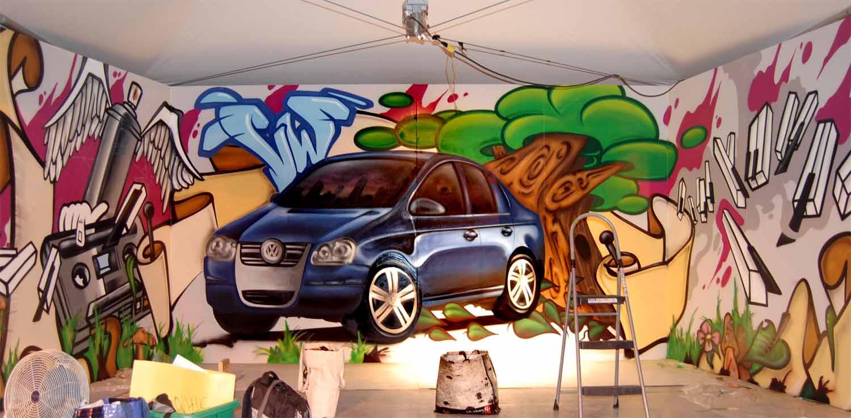 Art mural festival international de blues de Mont-Tremblant