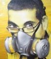 auto-portrait-jaune