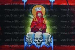 toile-graffiti-art-hip hop-peintre-cranes-vierge